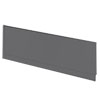 Apollo2 Gloss Grey 1700 Front Straight Bath Panel profile small image view 1