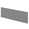 Apollo2 Gloss Grey 1700 Front Straight Bath Panel Small Image