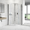 Hudson Reed Apex Quadrant Shower Enclosure - Various Size Options profile small image view 1