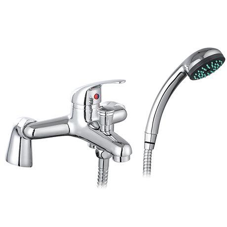 Apollo Bath Shower Mixer with Shower Kit - Chrome