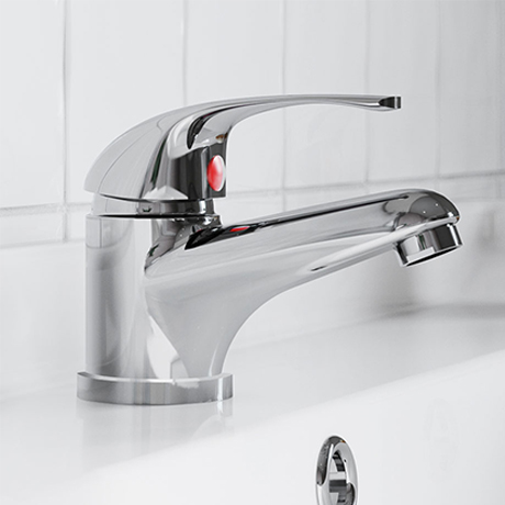 Apollo Mono Basin Mixer Tap with Waste - Chrome