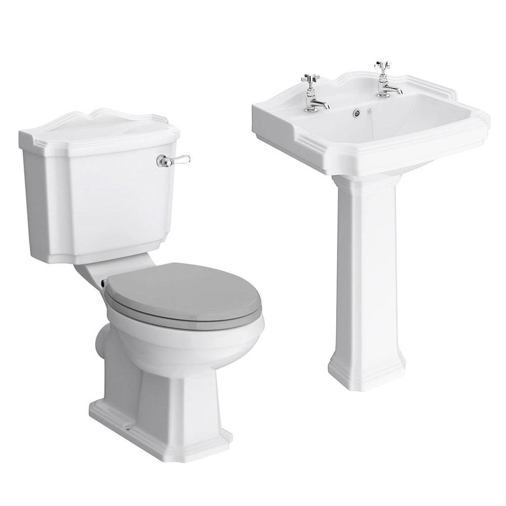 Appleby Traditional 4-Piece Bathroom Suite profile large image view 1