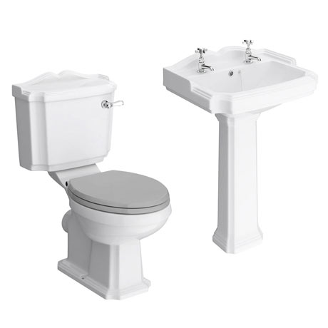 Appleby Traditional 4-Piece Bathroom Suite