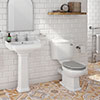Appleby Traditional 4-Piece Bathroom Suite profile small image view 1
