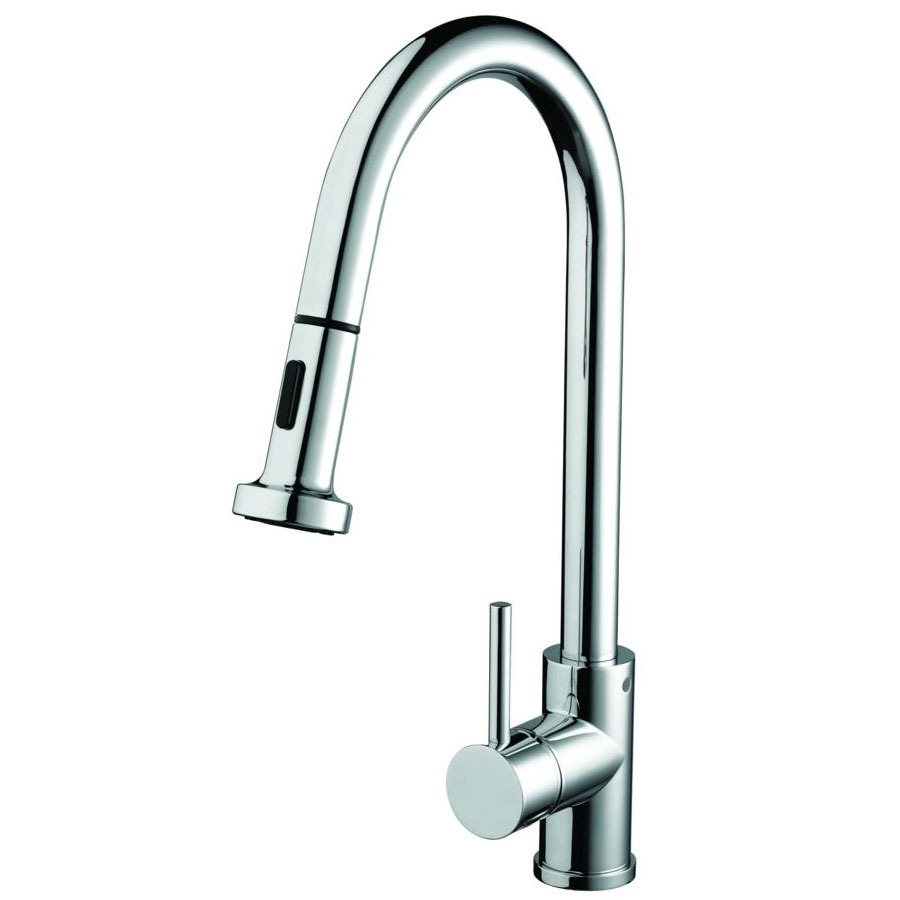 Bristan - Apricot Monobloc Kitchen Sink Mixer with Pull Out Spray - APR-PULLSNK-C Large Image