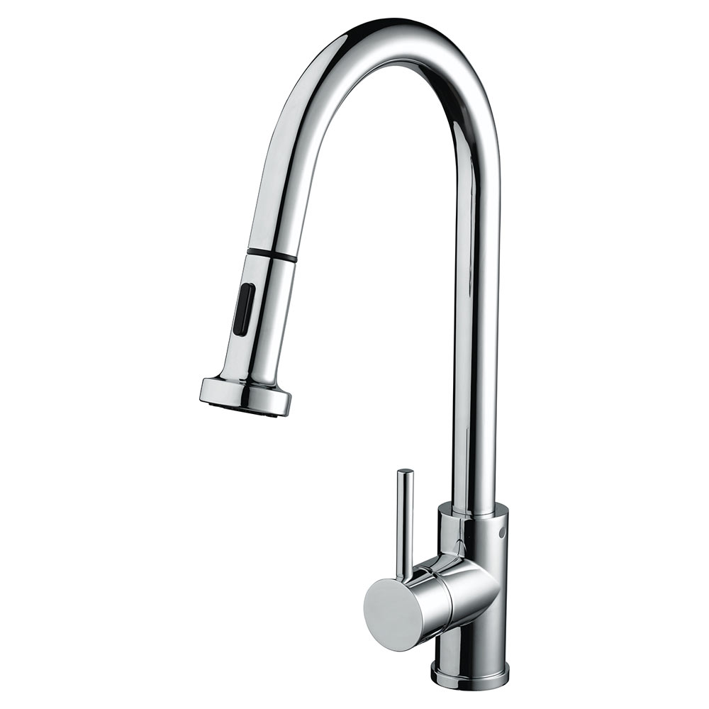 Bristan - Apricot Monobloc Kitchen Sink Mixer with Pull Out Spray - APR-PULLSNK-C