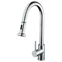Bristan - Apricot Monobloc Kitchen Sink Mixer with Pull Out Spray - APR-PULLSNK-C Medium Image