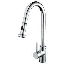 Bristan - Apricot Monobloc Kitchen Sink Mixer with Pull Out Spray - APR-PULLSNK-C Medium Image