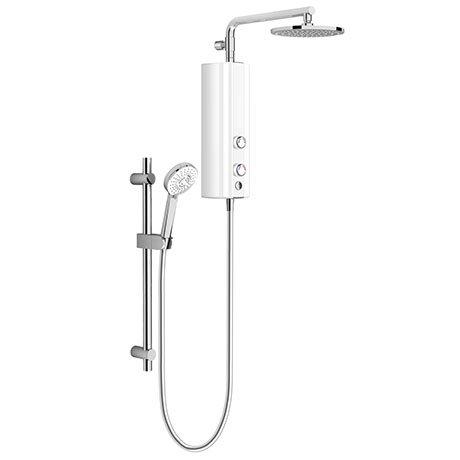 AQUAS AquaMax Flex Manual Smart 9.5KW White Electric Shower