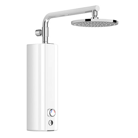 AQUAS AquaMax Top Manual Smart 9.5KW White Electric Shower