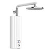 AQUAS AquaMax Top Manual Smart 9.5KW White Electric Shower profile small image view 1