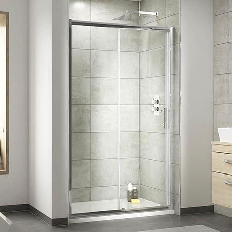 Premier Pacific Sliding Shower Door - Various Size Options