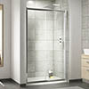 Nuie Pacific Sliding Shower Door - Various Size Options profile small image view 1