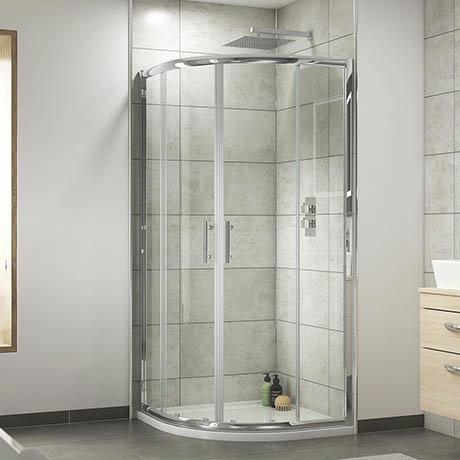 Pacific Quadrant Shower Enclosure Inc. Tray + Waste