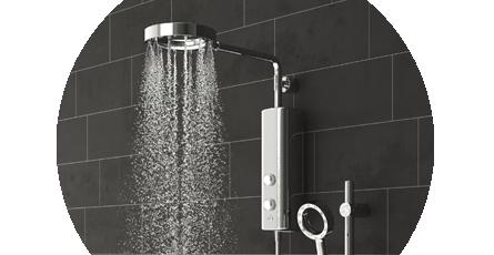 AQUAS Electric Showers
