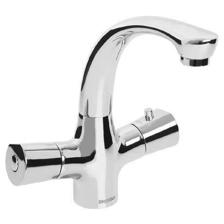 Bristan Artisan TMV2 Thermostatic Basin Mixer (no waste) - Chrome