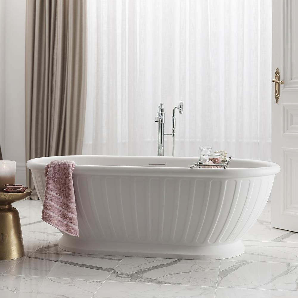 Arcade Albany Natural Stone Bath - 1690 x 800mm