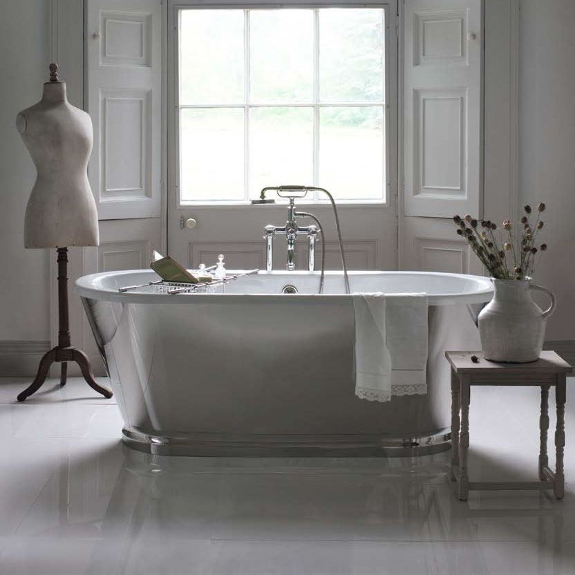 Arcade Albermarle Freestanding Bath - 1690 x 745mm profile large image view 3