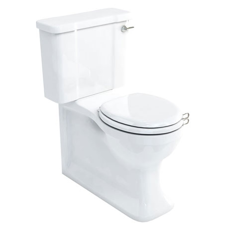 Arcade Full Back to Wall Close Coupled Traditional Toilet - Lever Flush