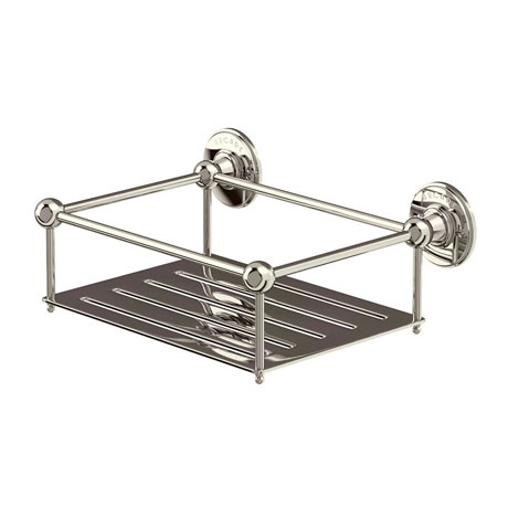 Arcade Wall Mounted Sponge Basket - Nickel