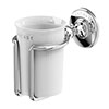 Arcade Wall Mounted Tumbler & Holder - Chrome - ARCA2-CHR profile small image view 1