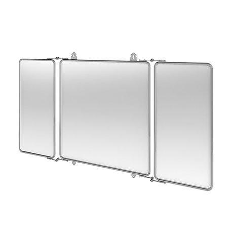 Arcade Three Fold Bathroom Mirror - Chrome - ARCA45-CHR
