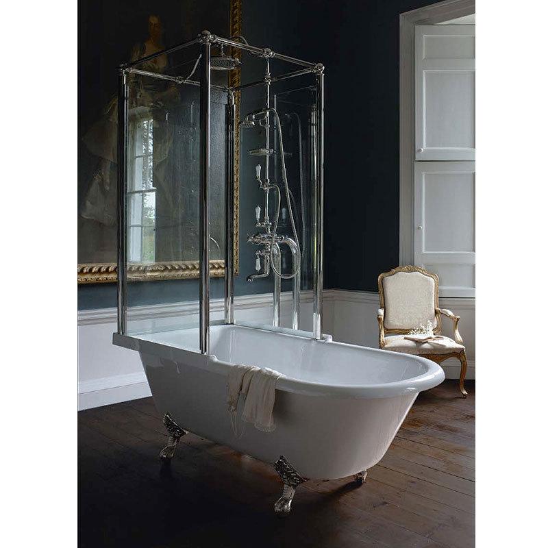 Arcade Royal Freestanding Over Bath Shower Temple - Left Hand Option profile large image view 5