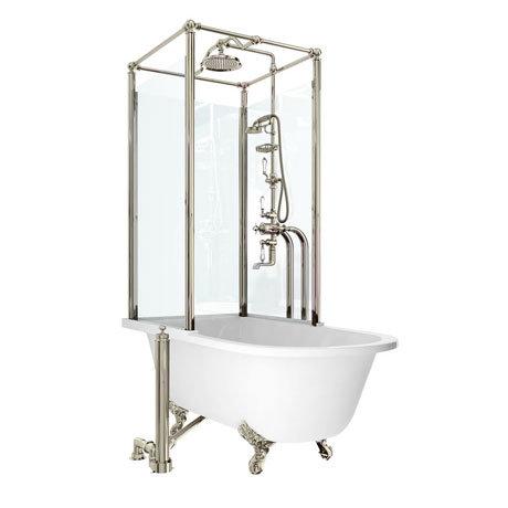 Arcade Royal Freestanding Over Bath Shower Temple - Left Hand Option