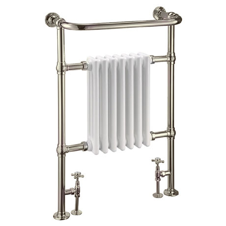 Arcade Lansdowne Radiator and Angled Valves - Nickel
