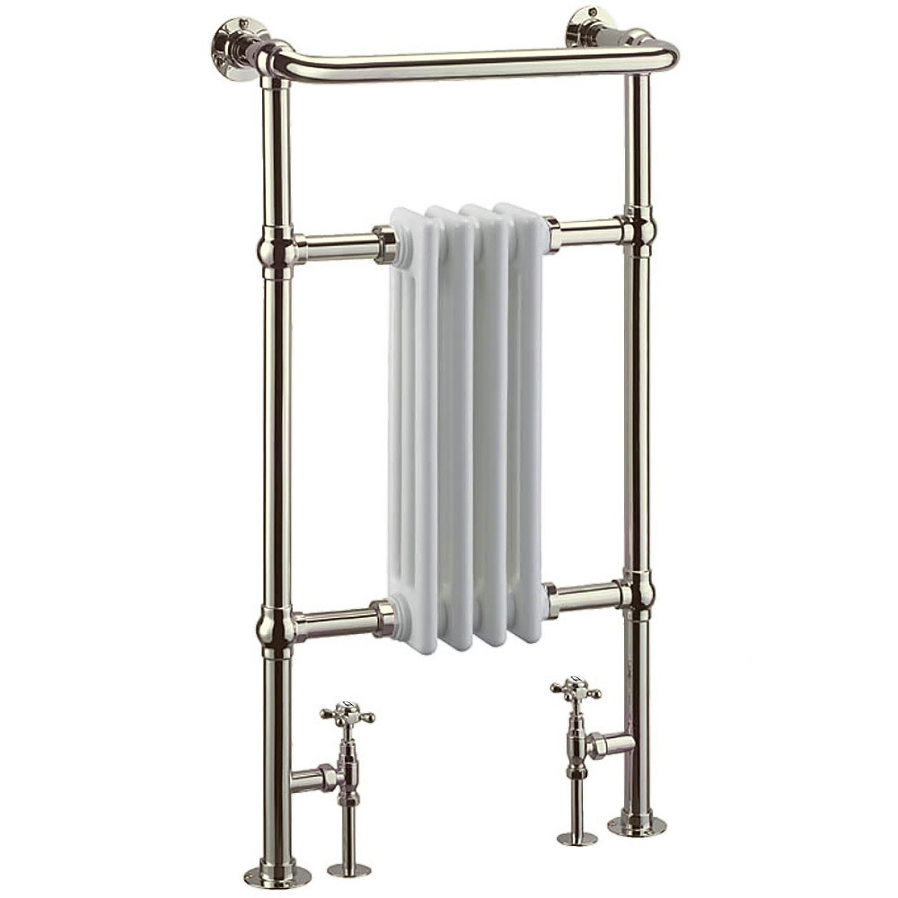 Arcade Bruton Radiator and Angled Valves - Nickel Large Image