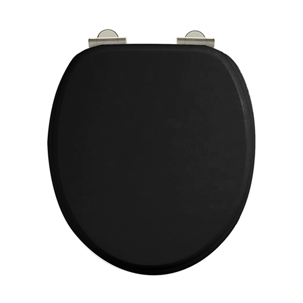 Arcade Soft Close Toilet Seat Black Order At Victorian - Oak toilet seat soft close