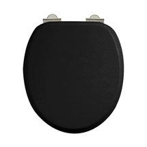 Arcade Soft Close Toilet Seat - Gloss Black Medium Image