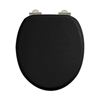 Arcade Soft Close Toilet Seat - Gloss Black profile small image view 1