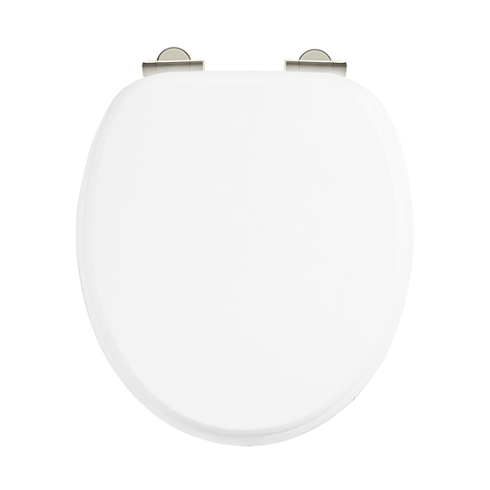 Arcade Soft Close Toilet Seat - White Large Image