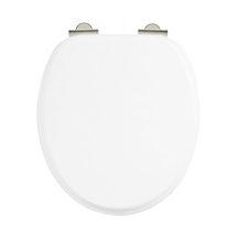 Arcade Soft Close Toilet Seat - White Medium Image
