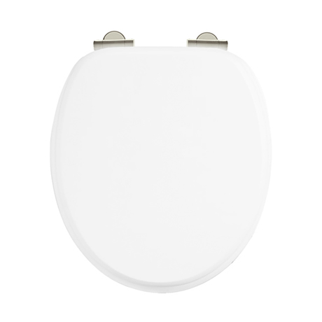 Arcade Soft Close Toilet Seat - White