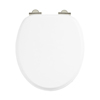 Arcade Soft Close Toilet Seat - White profile small image view 1