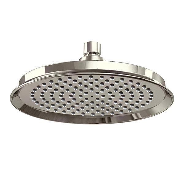 """Arcade 9"""" Air Boosted Rain Shower Rose - Nickel Large Image"""