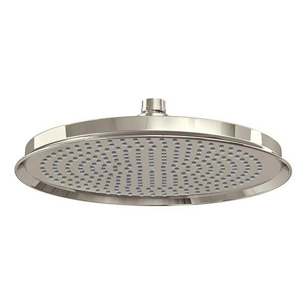 "Arcade 12"" Air Boosted Rain Shower Rose - Nickel Large Image"