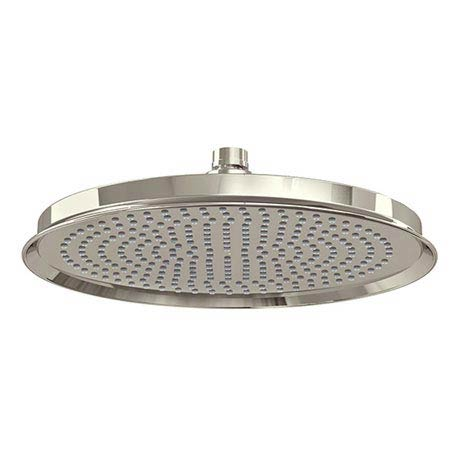 "Arcade 12"" Air Boosted Rain Shower Rose - Nickel"