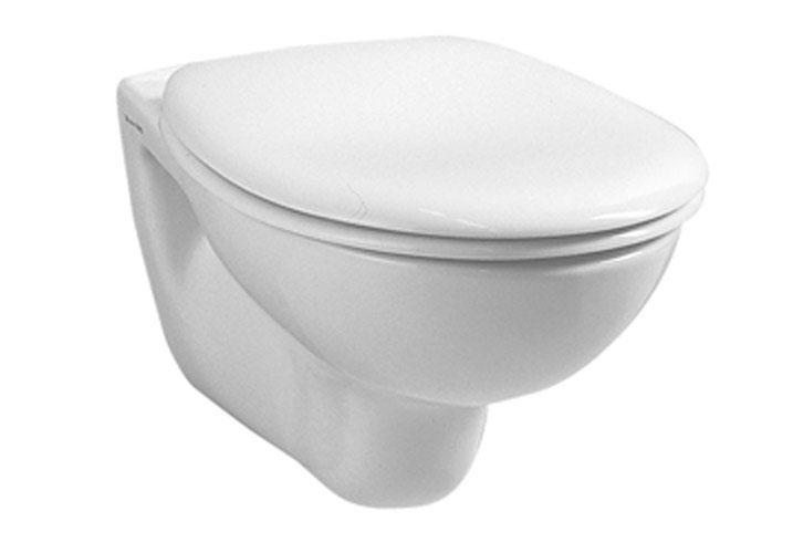 Vitra - Arkitekt Wall Hung Pan with Seat Large Image