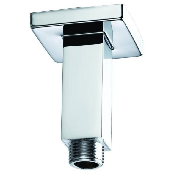 Bristan - 70mm Square Ceiling Fed Shower Arm - ARM-CFSQ01-C profile large image view 1