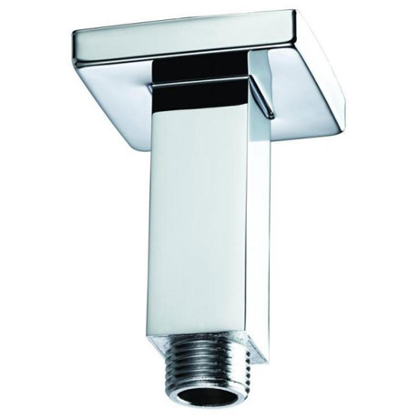 Bristan - 70mm Square Ceiling Fed Shower Arm - ARM-CFSQ01-C