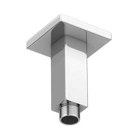 Bristan 70mm Square Ceiling Fed Shower Arm - ARM-CFSQ01-C