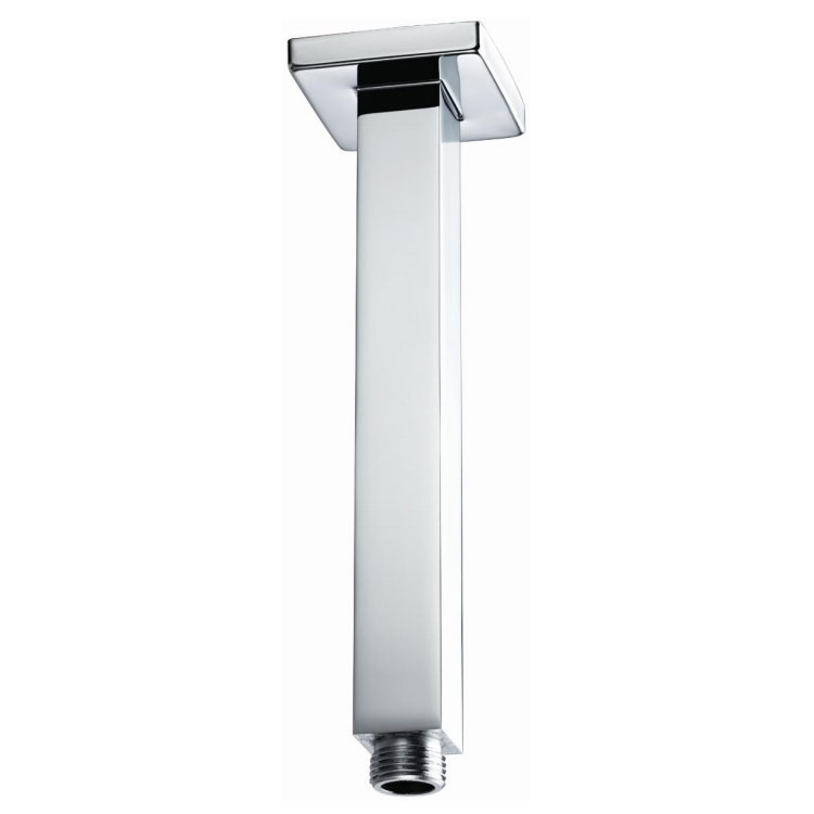 Bristan - 200mm Square Ceiling Fed Shower Arm - ARM-CFSQ02-C profile large image view 1