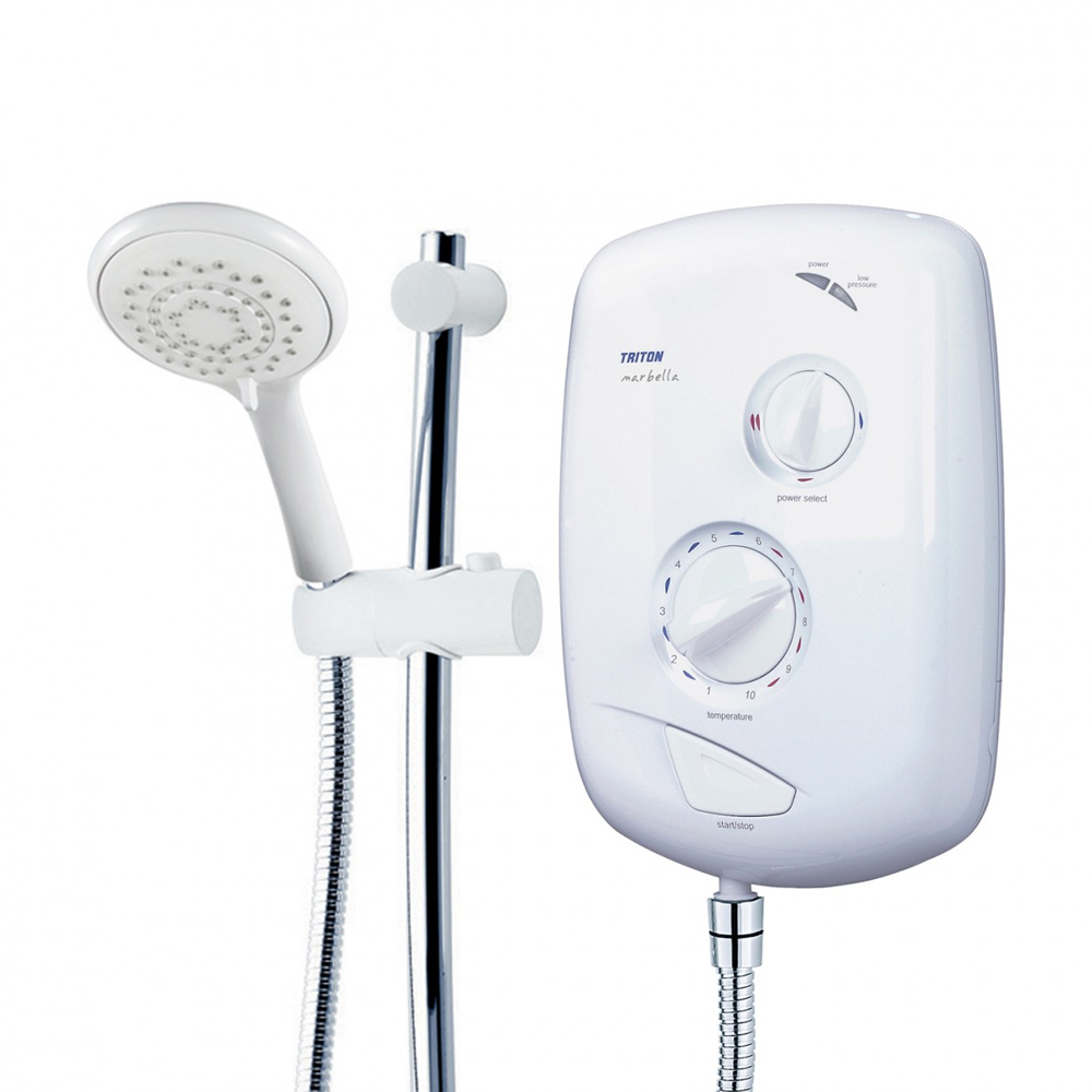 Triton Marbella 8.5kw Electric Shower - ARMARB08WC profile large image view 2