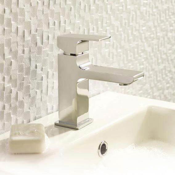 Hudson Reed Art Mono Basin Mixer w/ Waste - Chrome - ART305 profile large image view 2