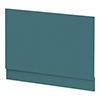 Arezzo Matt Green End Bath Panel - 750mm profile small image view 1