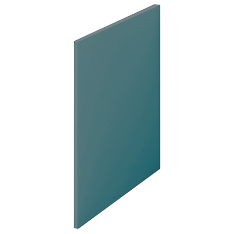Arezzo Matt Green L-Shaped End Bath Panel - 700mm