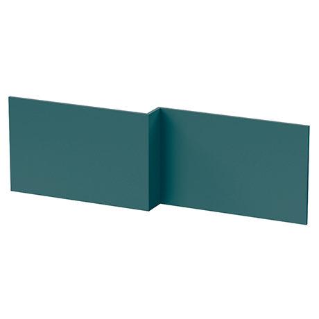 Arezzo Matt Green L-Shaped Front Bath Panel - 1700mm